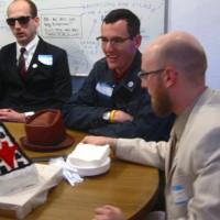 Steve Lambert, Adam Connelly, and Josh Short the Anonymous Businessman