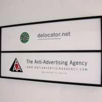 Anti-Advertising Agency exterior sign
