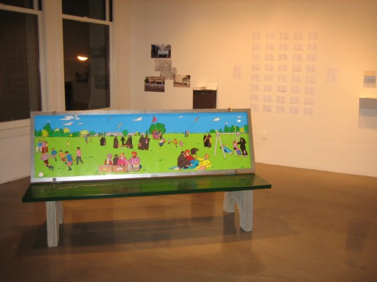 Installation view at Catharine Clark Gallery