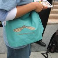 Samaras Project bag by Helena Keeffe