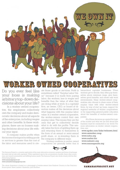 Worker Owned Coops Poster