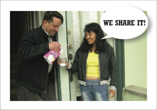 We Share It!