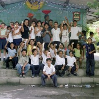 Schoolchildren in Colima