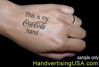 My Coca-Cola Hand