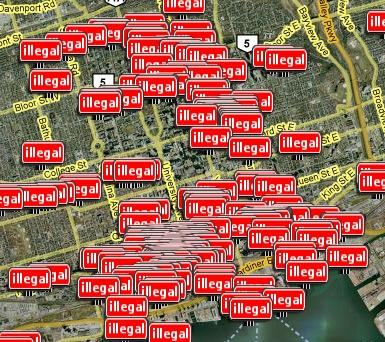Illegal Toronto