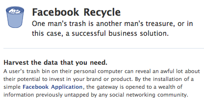 Facebook Recycle