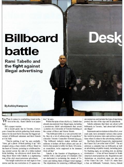 Convergence Magazine Story
