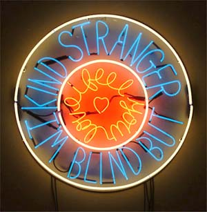 Ray Beldner Neon Sign