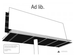Anti-Advertising Agency Adlib Poster