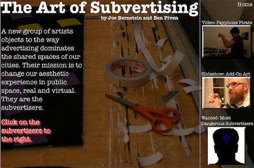 art of subvertising