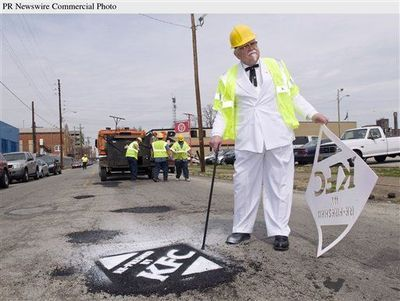 KFC POTHOLE REPAIR