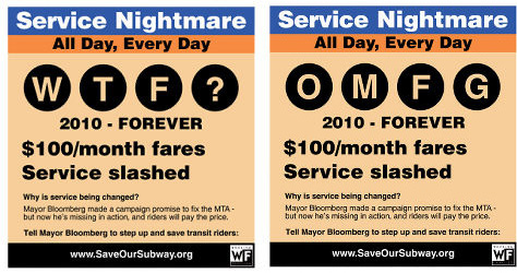 Working Families Party Rejected Subway Ad