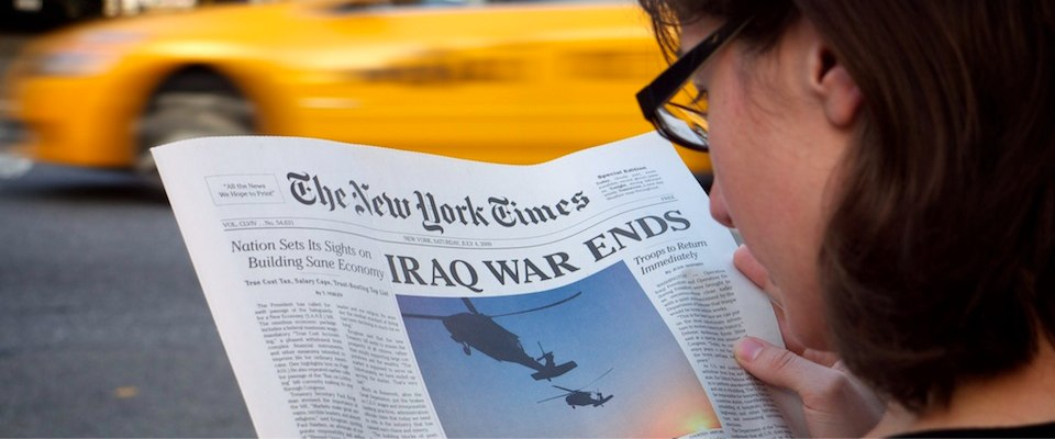 Iraq War Ends New York Times