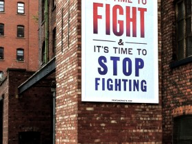 Steve Lambert - It's Time to Fight - Manchester